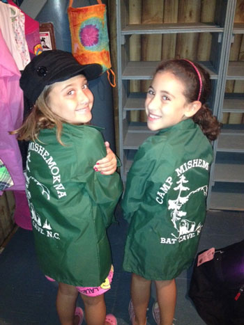 Kids LOVE The Camp! ...sporting some vintage Camp Mishemokwa jackets!