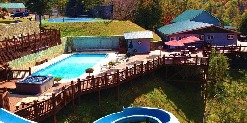 The Camp - vacation rentals, family reunions North Carolina