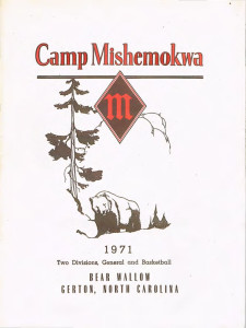Camp Mishemokwa 1971 Brochure